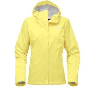 Yellow North-face Rain Jacket